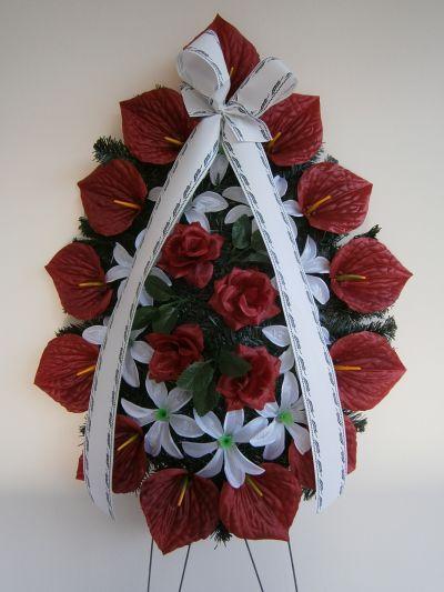 16 - естествени и изкуствени венци и цветя - Денонощна траурна агенция Зогри, Благоевград и Симитли