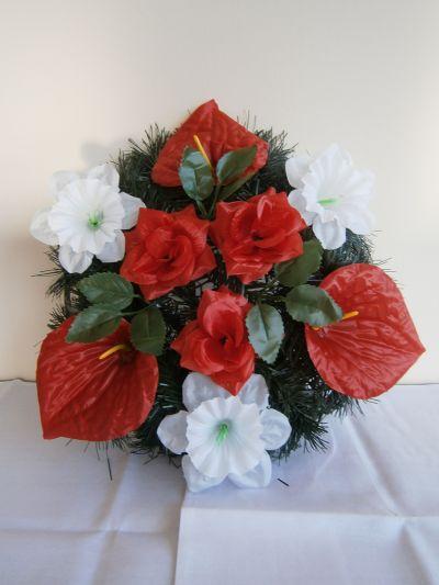 14 - естествени и изкуствени венци и цветя - Денонощна траурна агенция Зогри, Благоевград и Симитли