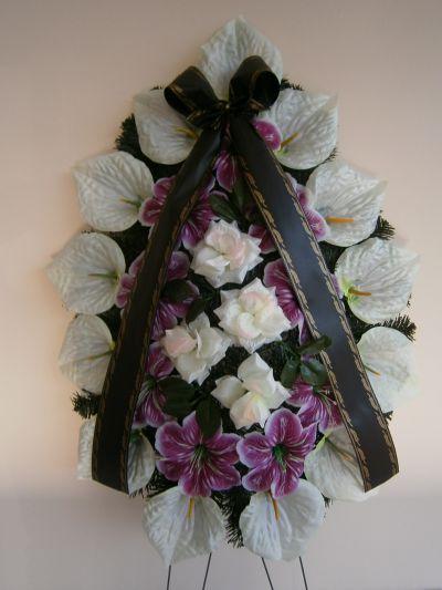 13 - естествени и изкуствени венци и цветя - Денонощна траурна агенция Зогри, Благоевград и Симитли