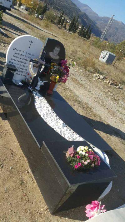 17 - надгробни паметници по поръчка за Благоевград и Симитли - Денонощна траурна агенция Зогри, Благоевград и Симитли