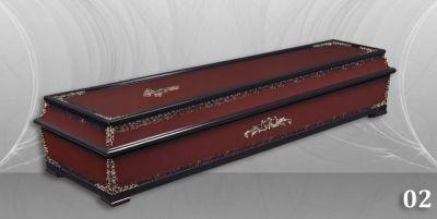 5 - обикновен и луксозен ковчег в Благоевград и Симитли, махагон, метален, лукс - Денонощна траурна агенция Зогри, Благоевград и Симитли