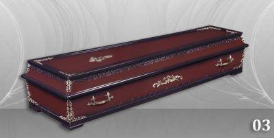 7 - обикновен и луксозен ковчег в Благоевград и Симитли, махагон, метален, лукс - Денонощна траурна агенция Зогри, Благоевград и Симитли