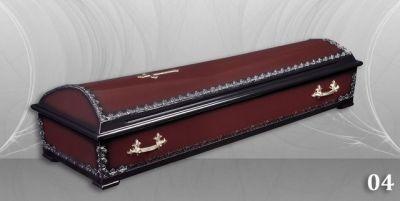 9 - обикновен и луксозен ковчег в Благоевград и Симитли, махагон, метален, лукс - Денонощна траурна агенция Зогри, Благоевград и Симитли