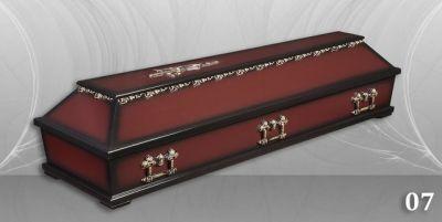 12 - обикновен и луксозен ковчег в Благоевград и Симитли, махагон, метален, лукс - Денонощна траурна агенция Зогри, Благоевград и Симитли