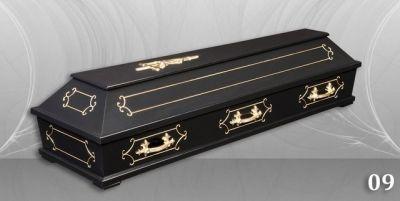 16 - обикновен и луксозен ковчег в Благоевград и Симитли, махагон, метален, лукс - Денонощна траурна агенция Зогри, Благоевград и Симитли