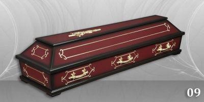 17 - обикновен и луксозен ковчег в Благоевград и Симитли, махагон, метален, лукс - Денонощна траурна агенция Зогри, Благоевград и Симитли