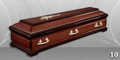 19 - обикновен и луксозен ковчег в Благоевград и Симитли, махагон, метален, лукс - Денонощна траурна агенция Зогри, Благоевград и Симитли