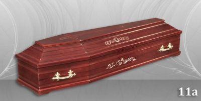 21 - обикновен и луксозен ковчег в Благоевград и Симитли, махагон, метален, лукс - Денонощна траурна агенция Зогри, Благоевград и Симитли