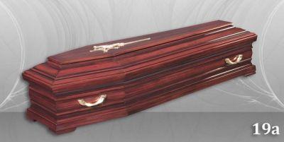 33 - обикновен и луксозен ковчег в Благоевград и Симитли, махагон, метален, лукс - Денонощна траурна агенция Зогри, Благоевград и Симитли