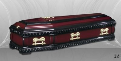 34 - обикновен и луксозен ковчег в Благоевград и Симитли, махагон, метален, лукс - Денонощна траурна агенция Зогри, Благоевград и Симитли