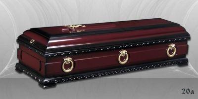 35 - обикновен и луксозен ковчег в Благоевград и Симитли, махагон, метален, лукс - Денонощна траурна агенция Зогри, Благоевград и Симитли