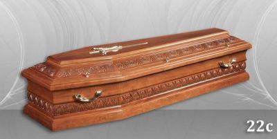 40 - обикновен и луксозен ковчег в Благоевград и Симитли, махагон, метален, лукс - Денонощна траурна агенция Зогри, Благоевград и Симитли