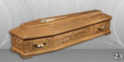 41 - обикновен и луксозен ковчег в Благоевград и Симитли, махагон, метален, лукс - Денонощна траурна агенция Зогри, Благоевград и Симитли