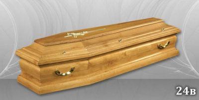 45 - обикновен и луксозен ковчег в Благоевград и Симитли, махагон, метален, лукс - Денонощна траурна агенция Зогри, Благоевград и Симитли