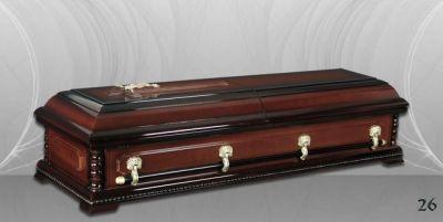 47 - обикновен и луксозен ковчег в Благоевград и Симитли, махагон, метален, лукс - Денонощна траурна агенция Зогри, Благоевград и Симитли