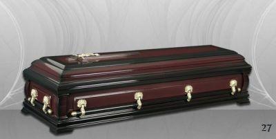 49 - обикновен и луксозен ковчег в Благоевград и Симитли, махагон, метален, лукс - Денонощна траурна агенция Зогри, Благоевград и Симитли