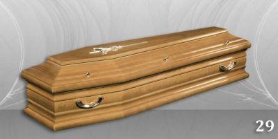51 - обикновен и луксозен ковчег в Благоевград и Симитли, махагон, метален, лукс - Денонощна траурна агенция Зогри, Благоевград и Симитли