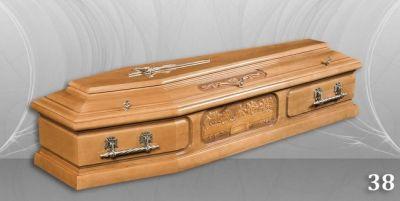 60 - обикновен и луксозен ковчег в Благоевград и Симитли, махагон, метален, лукс - Денонощна траурна агенция Зогри, Благоевград и Симитли