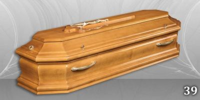 61 - обикновен и луксозен ковчег в Благоевград и Симитли, махагон, метален, лукс - Денонощна траурна агенция Зогри, Благоевград и Симитли
